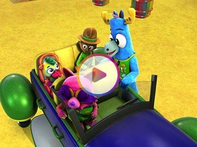 Watch a Sneak Peek of the  Buckle Upfor Safety Episode of Mack and Moxy!